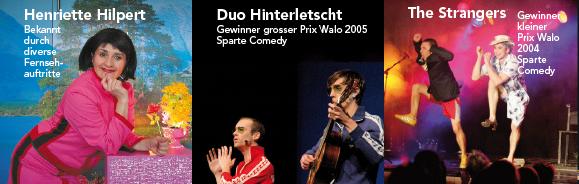 Henriette Hilpert, Duo Hinterletscht und The Strangers