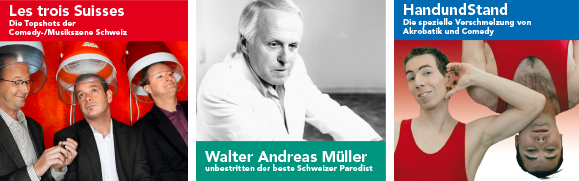 Les Trois Suisses, Walter Andreas Müller und HandundStand