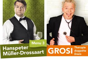 SLF Comedy Reichenbach: Hanspeter Müller Drossart und Grosi