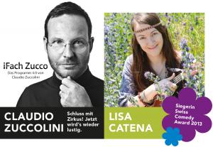 SLF Comedy Reichenbach: Claudio Zuccolini und Lisa Catena