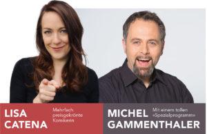 Lisa Catena und Michel Gammenthaler